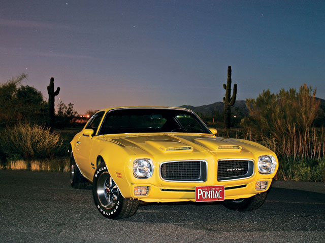 Owner Bill McCoy spotted this Ram Air '70 1/2 Formula 400 in the Arizona Republic classified ads back in 1994.