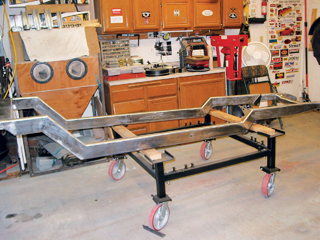 The subject of this Saturday assembly chore is my brand-spankin'-new Street Rod Engineering Model A frame. SRE frame and complete chassis packages are the result of 20-plus years of street rod chassis-fabrication experience, and the company's 2x4x.120 rectangular tube construction will make a fine foundation for my next build-a '29 A pickup.