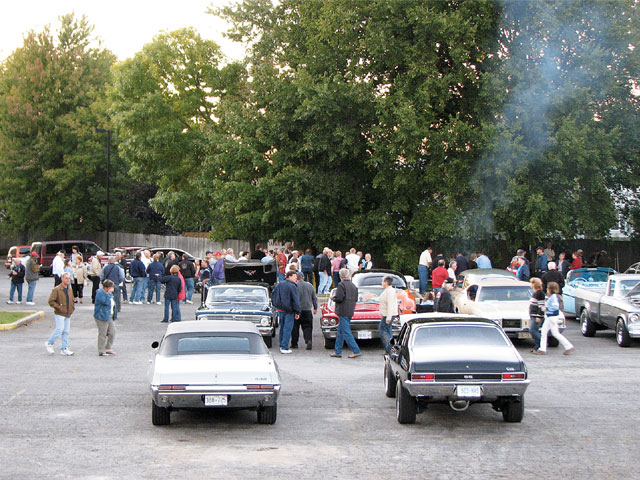 We were greeted by the Sarnia Street Machine Car Club when we crossed into Canada and reached our Sunday evening destination. Sarnia club members had food ready on the grill and gave us a warm welcome to Canada.