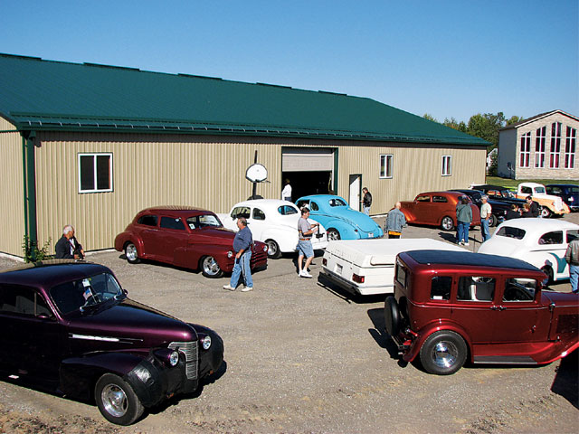 We made a quick stop at Lowdown Hot Rods in Cambridge, ON, Monday morning. These folks have been putting out high-quality show cars and drag cars for quite a while.
