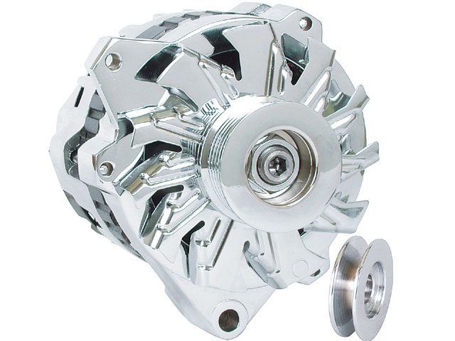 Alternator rpm is critical, particularly in an accessory laden vehicle. It is possible to run the battery down at low speeds with high electrical demands if the alternator is not spinning fast enough.