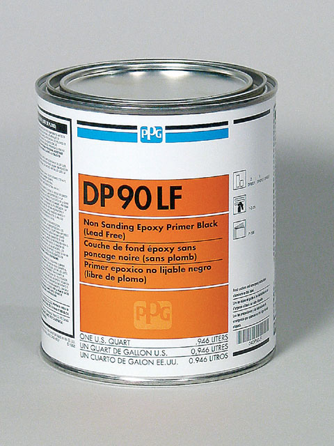 Another version of PPG's epoxy primer is black DP90LF. LF stands for lead free.