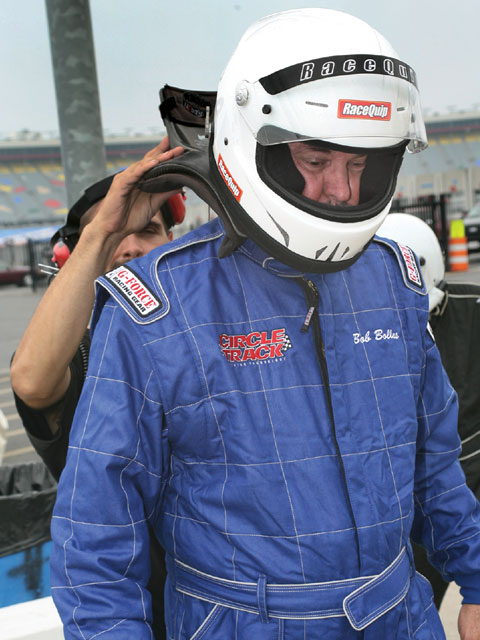 Bob Bolles' G-Force 545 two-layer suit is SFI 5 rated but because of its TPP rating of 23 it gives him almost two more seconds of protection than a 5 rated suit with the minimum TPP of 19. Kevin Thorne