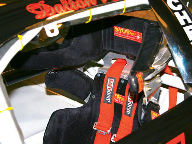 The modern racing seat has not only rib support, but shoulder, side and rear head support. It will have reduced loss of shape and more support of legs. The head and neck restraint systems do a great job of reducing forward motion and we need side support also from the seat design.