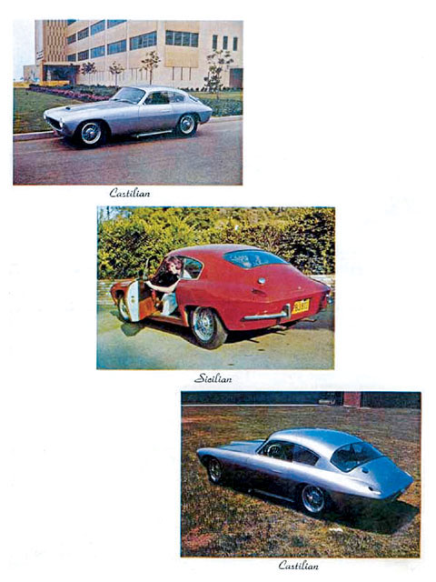 This LaDawri brochure shows the Packwood Victress C-3 at top and bottom sandwiching a nice Sicilian. LaDawri promo photo.