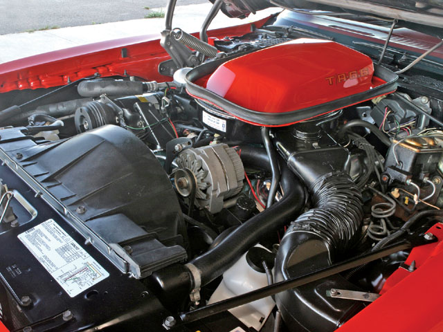 VIN code Z in 1979 put a PWH-code L78 400-cubic inch Pontiac powerplant under the hood of Trans Ams and Formulas for the last time. This one has only had its coolant and oil changed. All else is said to be pure factory stock.