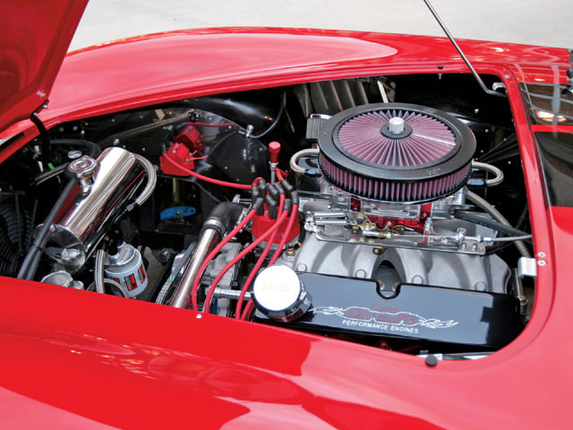 Keith Craft Performance Engines of Arkadelphia, Arkansas, built the 410ci stroker powerplant, which the owner mated to a Tremec TKO-600 five-speed manual trans.