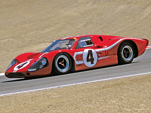 The Mk IV was the last Ford GT to be raced by the two factory teams: Shelby American and Holman-Moody.