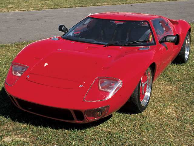 One of the early English kits brought to the U.S. was the GTD40.
