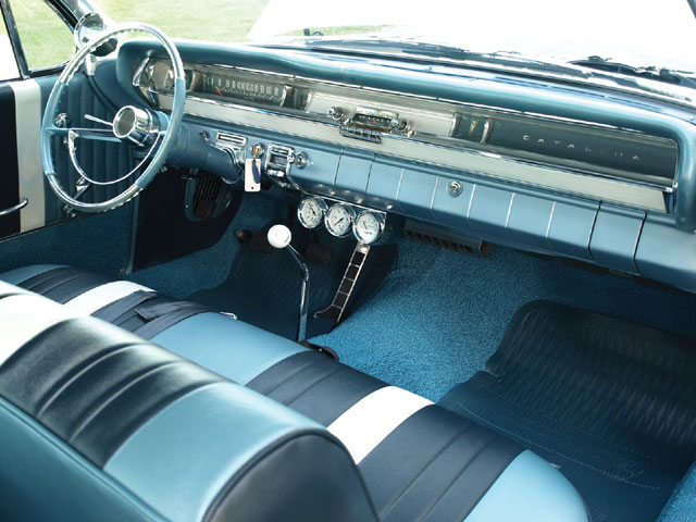1962 Pontiac Catalina The Phantom Bubbletop Hot Rod