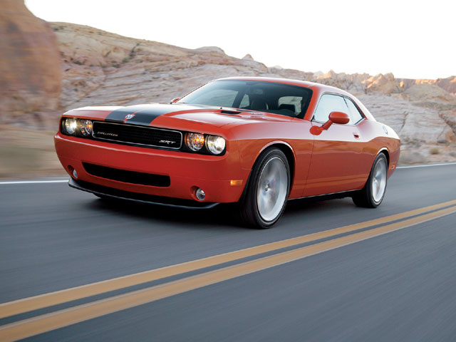 Consumers will enjoy outstanding performance on the street or on the track. With a low-ride height, a brake-lock differential, SRT-tailored spring rates and shock rates, sway bars, and a uniquely tuned Electronic Stability Program (ESP), the '08 Dodge Challenger SRT8 offers world-class ride and handling characteristics across a dynamic range.