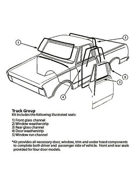 1947 1954 chevy gmc classic trucks buyers guide hot rod network Military Truck Wiring Diagram soffseal is pleased to offer a variety of plete weatherstripping kits for 47 53 chevy gmc 1 2 ton trucks its truck kits include door weatherstrips