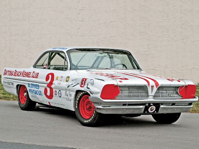 Olin Hopes recreated Ray Fox's '61 No. 3 Catalina race car, which is on display at the Living Legends of Auto Racing Museum in Daytona Beach.