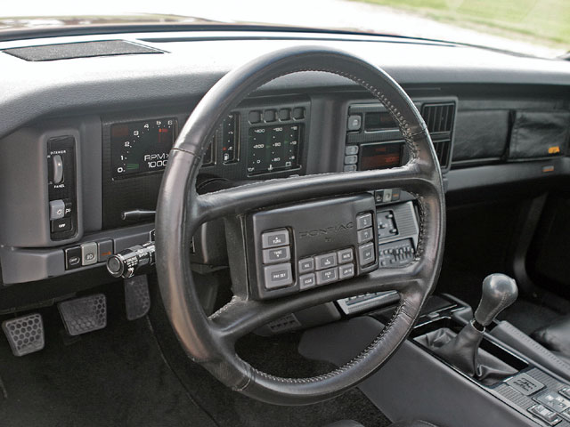 The GTA was a rolling exhibit of GM's '80s cutting-edge technology. From radio controls on the steering wheel to the Buck Rogers-esque digital dash, there were plenty of lights and buttons to keep the driver entertained.
