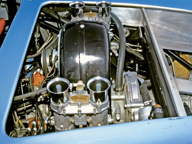 This is the famed Carrera engine that powered so many Spyders to victory. It was last used in the highly successful 904.