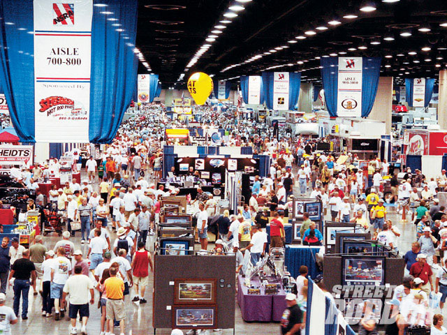 If you can't find what you need amidst 375 exhibitors spread out over 750,000 sq. ft., then what the hell are you looking for?