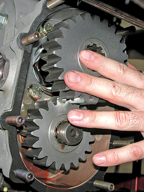 Once you fully understand the power curves you may need to make some adjustments to the gearing. This is a simple process on a car equipped with a quick-change rearend. If you are racing a Modified or Stock Car, or any other car that uses a rearend with its roots in passenger cars, you may have to change the ring and pinion to change the final gearing.