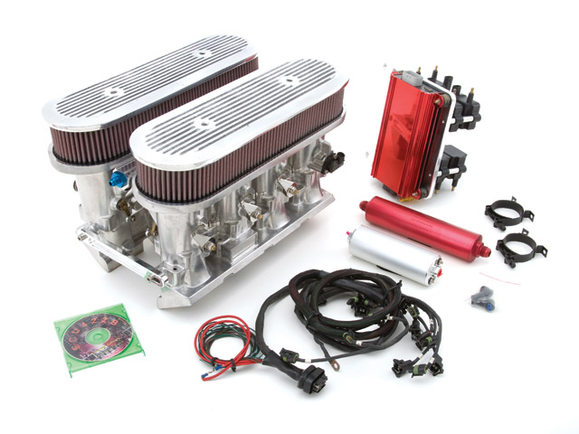 electronic fuel injection system industry in Throttle body injection was one of the first domestic fuel injection systems to enter  the market to easily replace the carburetor on existing engine designs.