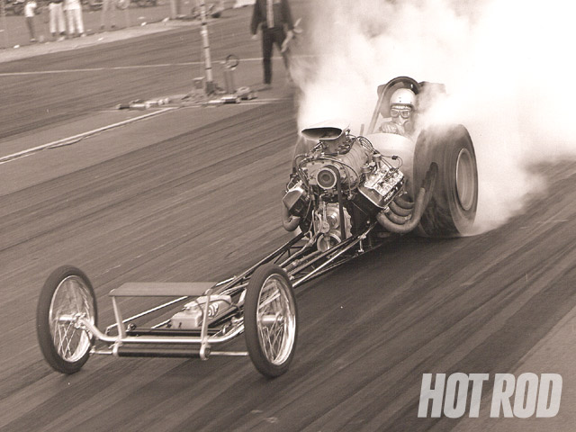 Mike Sorokin doin' it old school before it was old school, at Pomona, 1966.