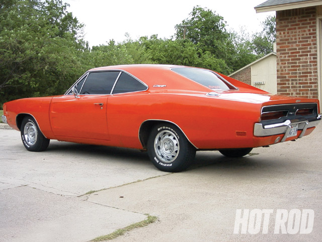 Robert's Charger is an early-production model built in fall 1968. It was bought as a Christmas present for the original owner.
