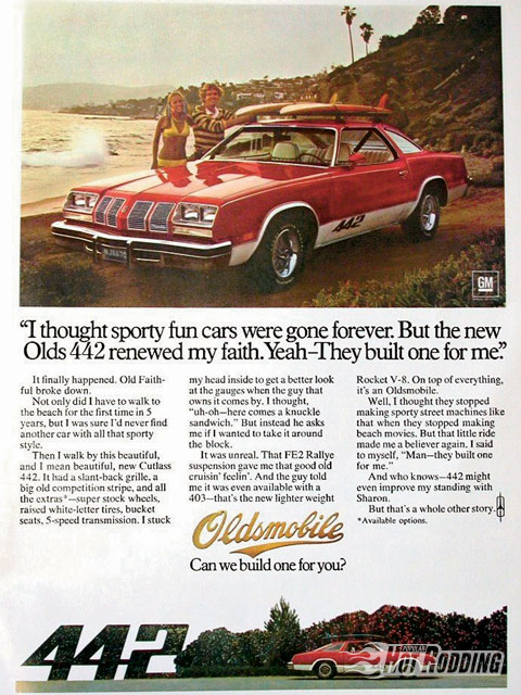 Search phrase: 1976 Olds 442