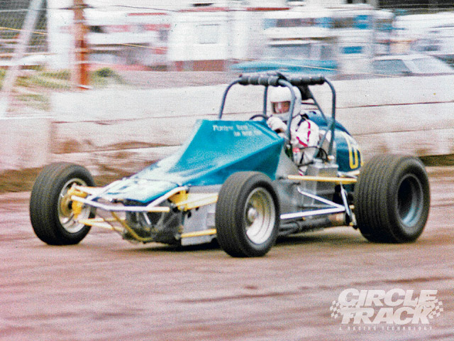 This unique Sprint Car defied tradition. It was custom built by Bill Montagne in 1978 with an independent suspension at the front and rear with torsion bar springs. Do we need for someone to come along now and redefine the Sprint Car, or is the design maxed out? Photo courtesy Bill Montagne