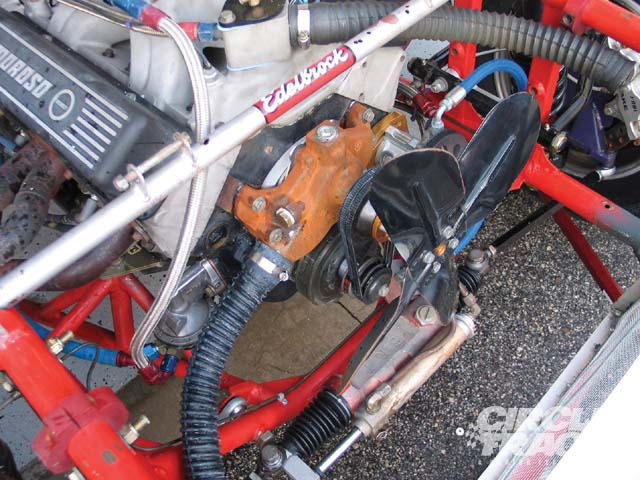 It doesn't take a rocket scientist to figure out this motor needs a new water pump. But it's not always that obvious, check your water pump thoroughly. Rob Fisher