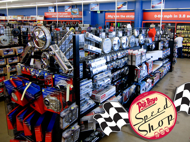 Pep Boys Store Hours >> Pep Boys Opens Speed Shop In Los Angeles Hot Rod Network