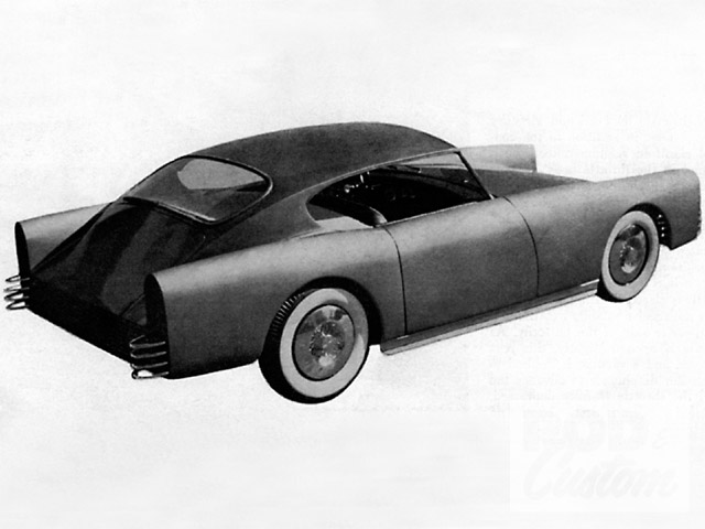 The panel crowns were low, the lines were rather straight, and compound curves were minimal, but Jay Everett's first attempt at building a car--much less a car from scratch--was more than respectable. Though an unnamed panel of Detroit designers panned it, fellow designer and occasional magazine celebrity Ocee Ritch rightfully gave Jay the credit he was due.