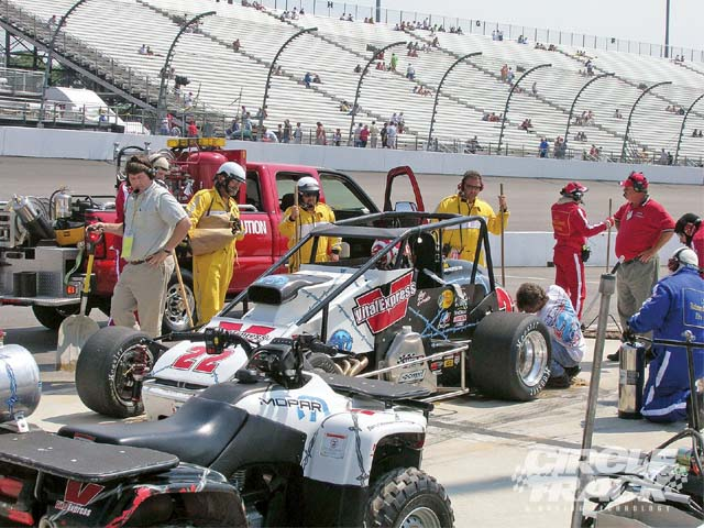 A well-trained safety crew is a big step in ensuring a safe work environment for race teams at the track.