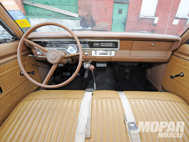 Forty years and still kickin'! The seats, carpet, and steering wheel date back to 1969.