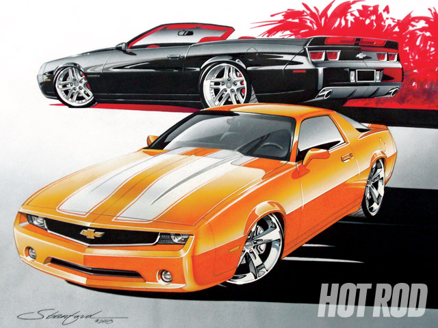 custom chevy musclecars new takes on classic chevy body styles