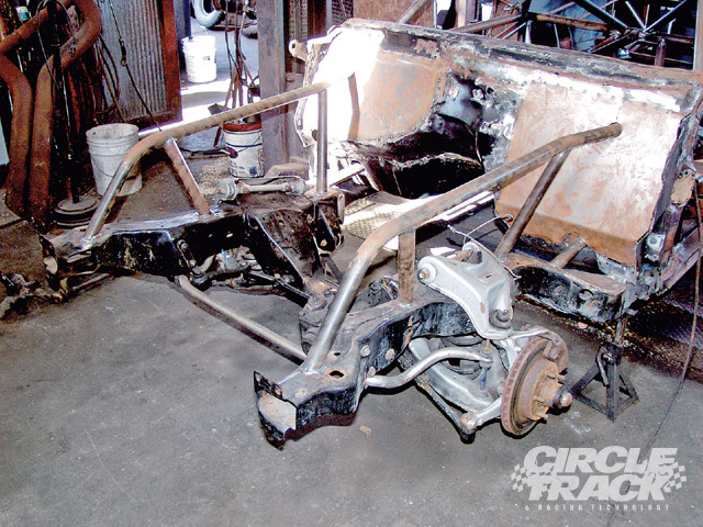 The stock front end design leaves a lot to be desired when trying to convert a street car into a race car. The concept of racing cheap, older stock cars is attractive to many who wish to race under a smaller budget, but we can make the situation better with a little effort and a small amount of cash.