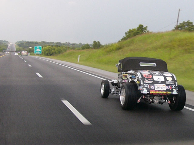 Man Drives 1932 Ford 9 856 Miles Through 49 States In 9