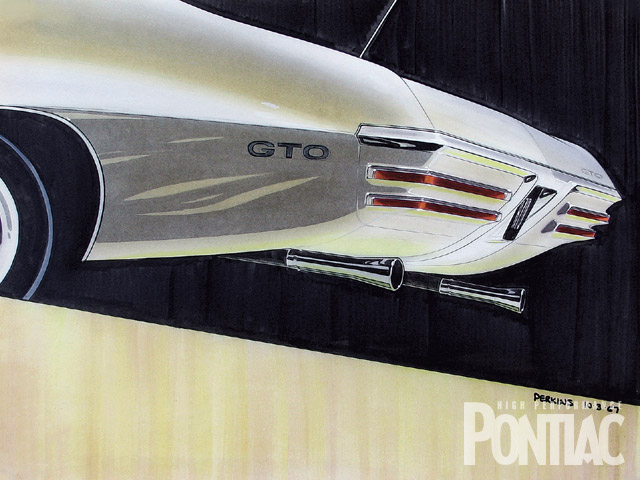Taillights under the bumper. A fresh concept for '70 back in 1967.