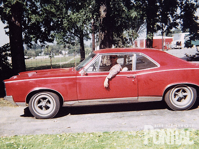 This is the GTO's first and only owner Bob Williford, circa 1967.