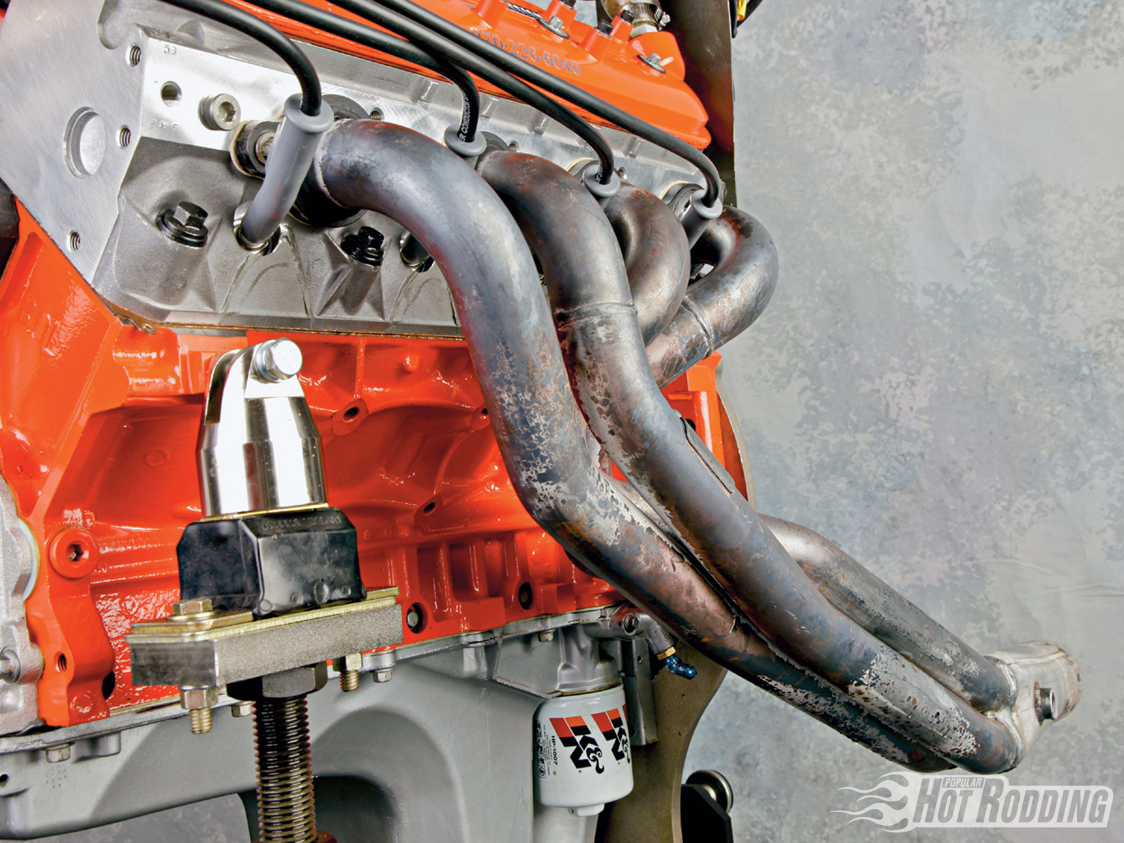 Pacesetter long-tube headers make good power and still fit a normal F-body chassis without much hassle. Built-in O2 bungs are designed for the factory fuel-injected engine, but make tuning with a wideband O2 sensor and a carburetor much easier.