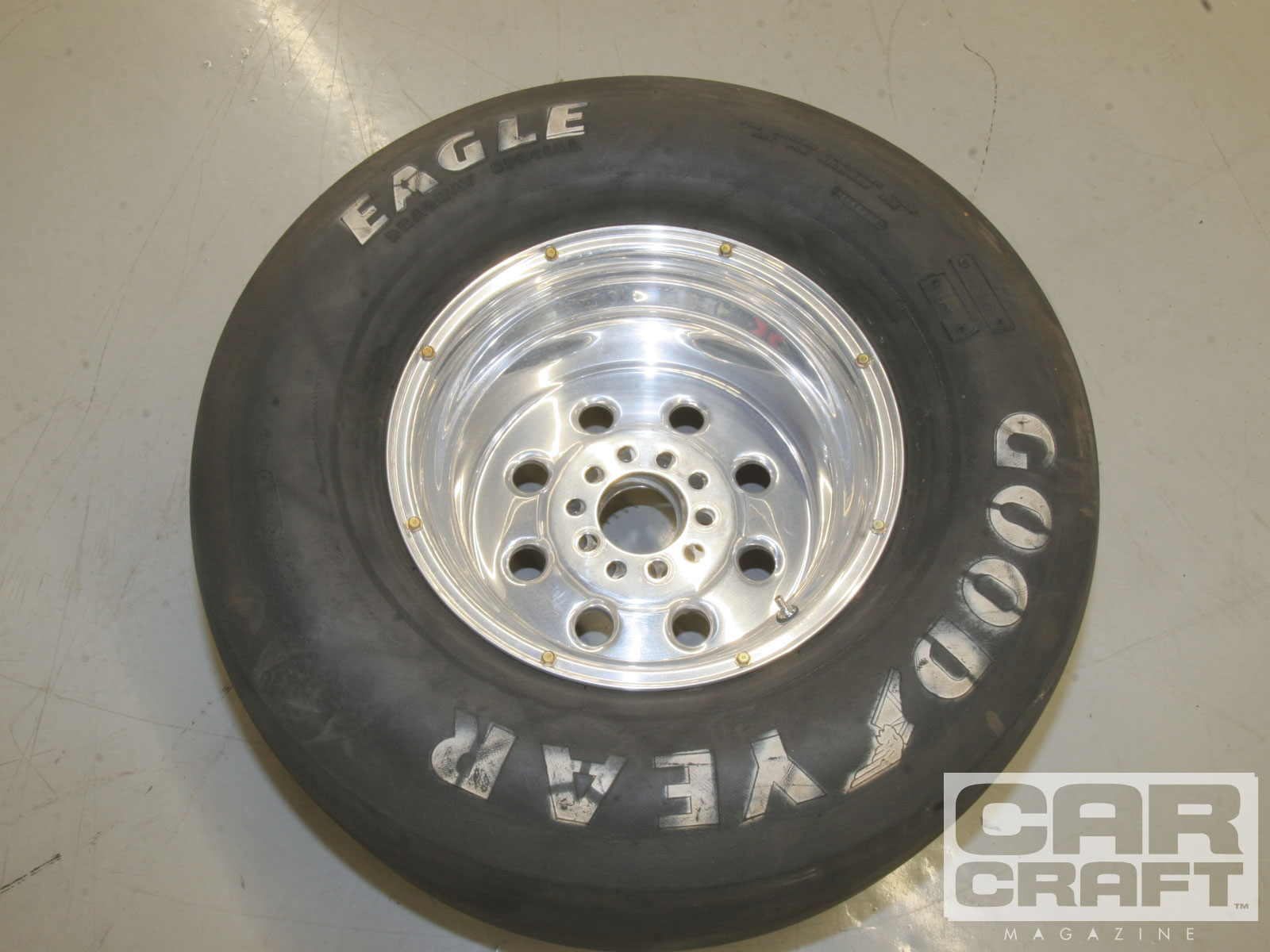 The car came with a set of early Weld Ultralite wheels with drilled and screwed beads. They are light, but there are better ways to lock rims. More on that in the coming months.