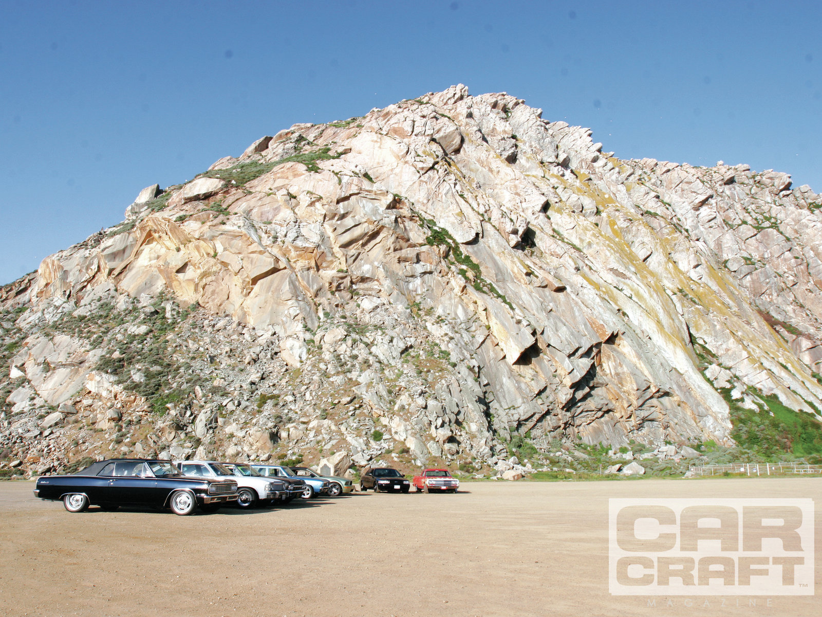 Sunday morning as we were leaving, we took this group photo in front of the Rock in Morro Bay.