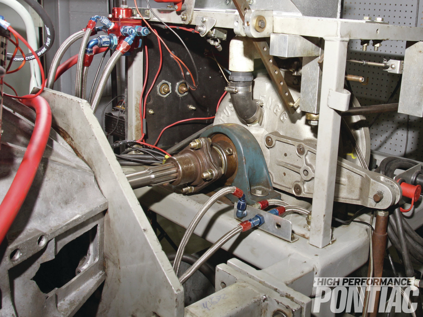 The water brake on a dyno has two impellers just as a torque converter does. The unit uses water to create a resistance, and the torque is measured by a strain gauge that in years past was mechanical but is now electronic.