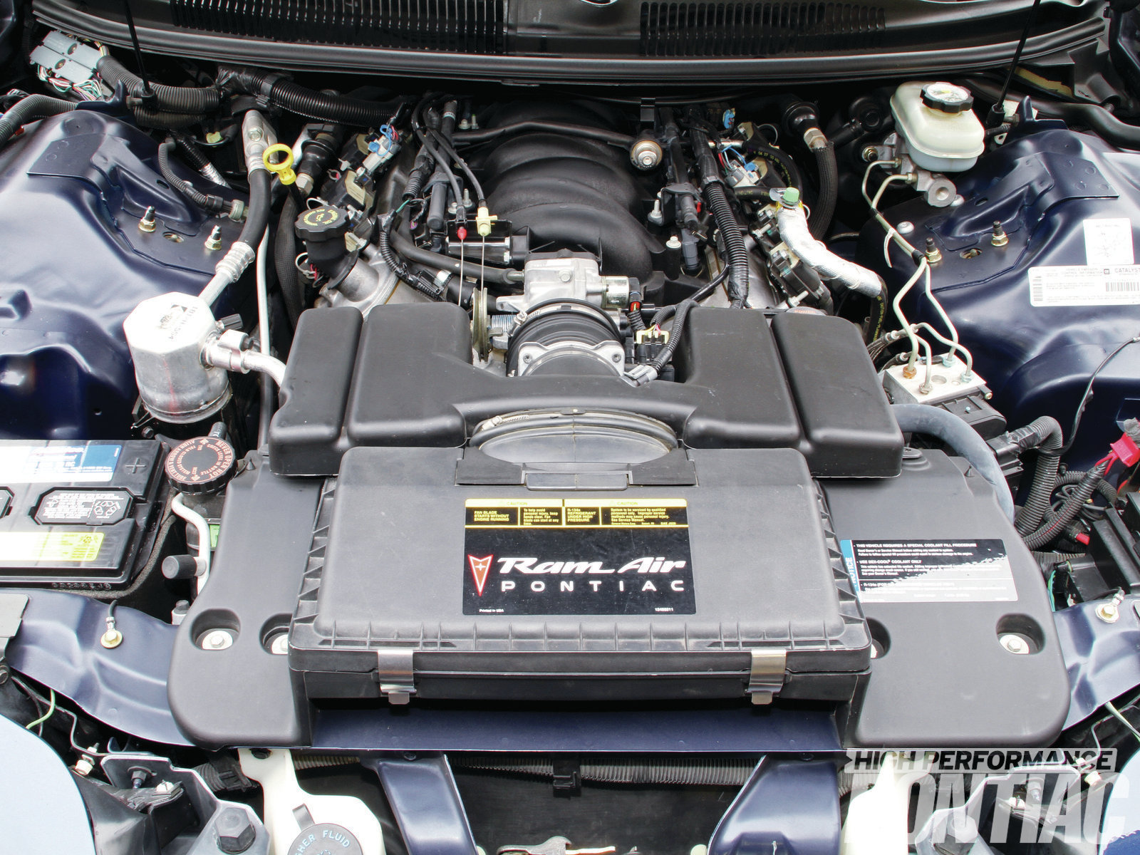 The all-aluminum LS1 was the standard Firebird V-8 beginning in '98. Initially rated at 305 hp, a new camshaft and a revised intake manifold boosted that to 310 for 2001. The WS6 option added 15 hp taking it to 325.