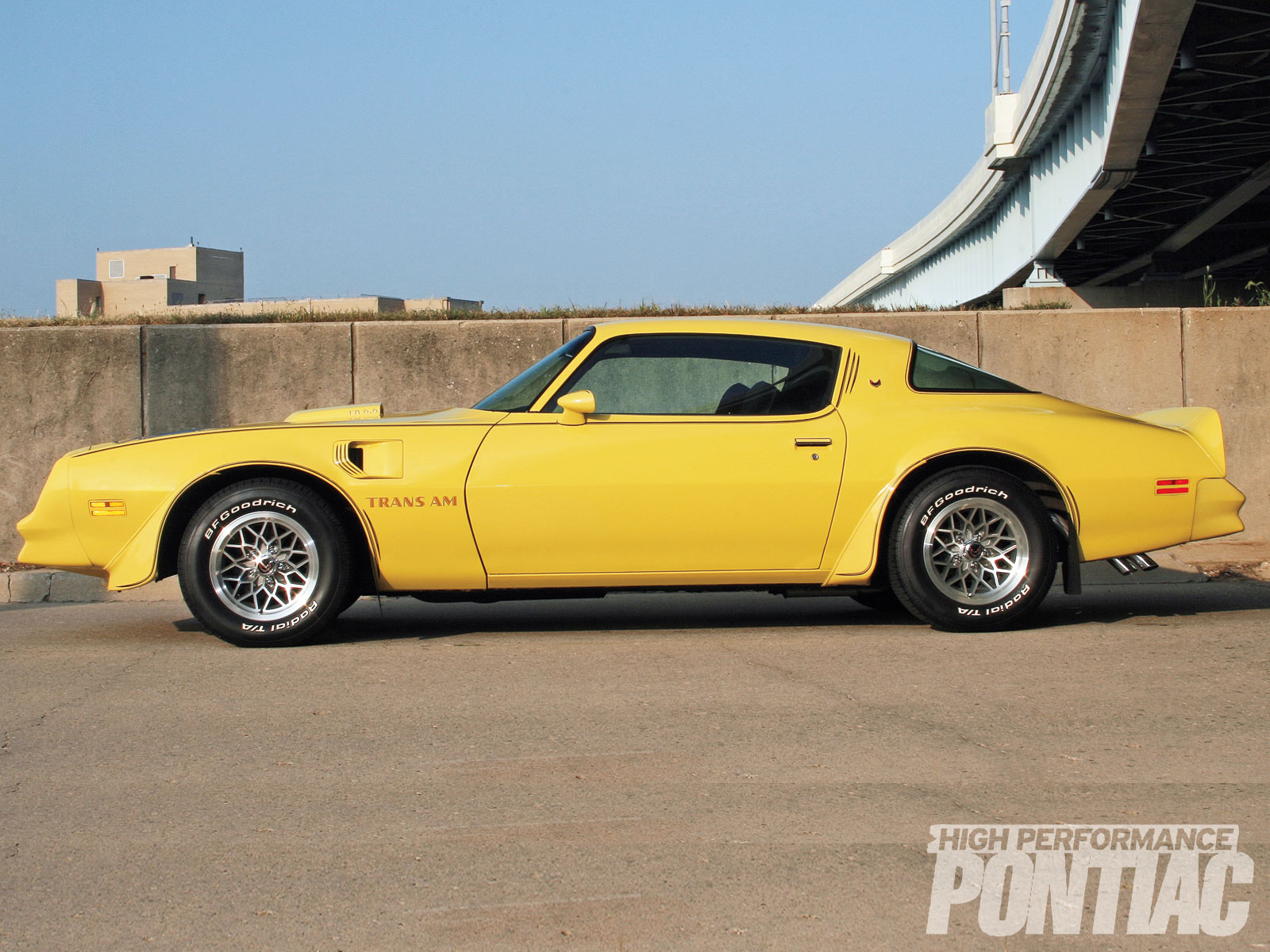 """This T/A's pinstriping dates to April 1978, when Seslar paid $120 to Bordner Graphics in Fort Wayne for them. """"When the nose and scoop were repainted, I did not put the pinstripes back on those areas,"""" he says."""