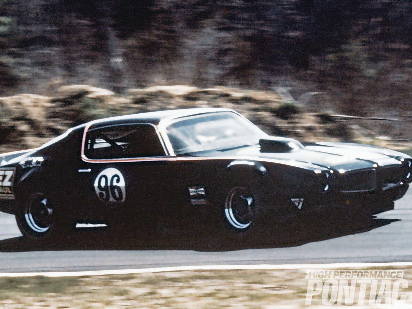 The Pontiac Special Projects team members pooled their money to buy a '71 Firebird and turned it into this 303-powered road racer. It was the only Pontiac-engine car to ever win a Trans-Am series race.