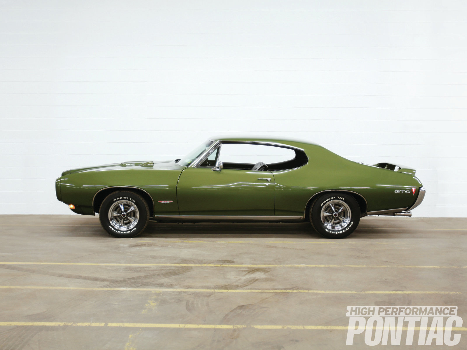 Verdoro Green has emerged as the signature color for the entire '68 model year, as over 30-percent of all Pontiacs were built in this hue.
