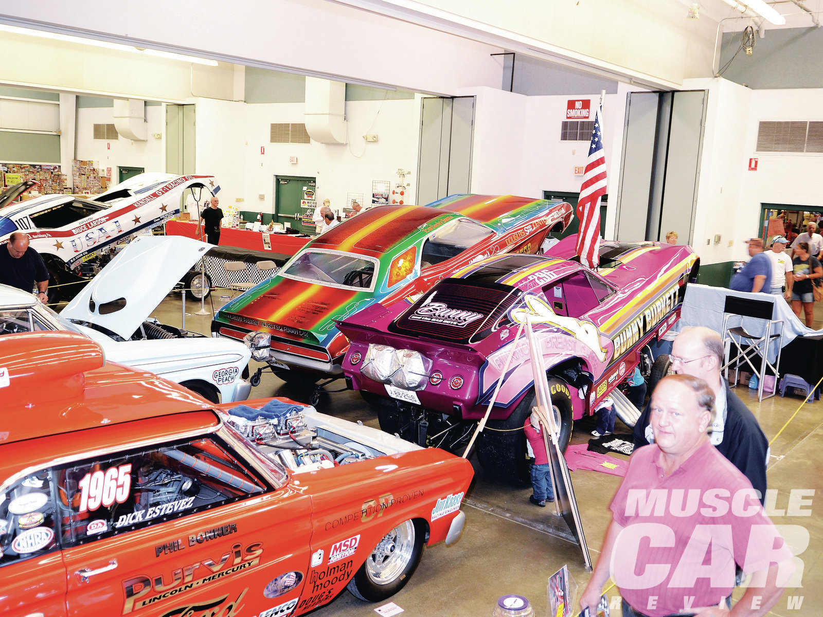 Funny cars, door cars, and various performance machines filled up two whole buildings on the York Fairgrounds.