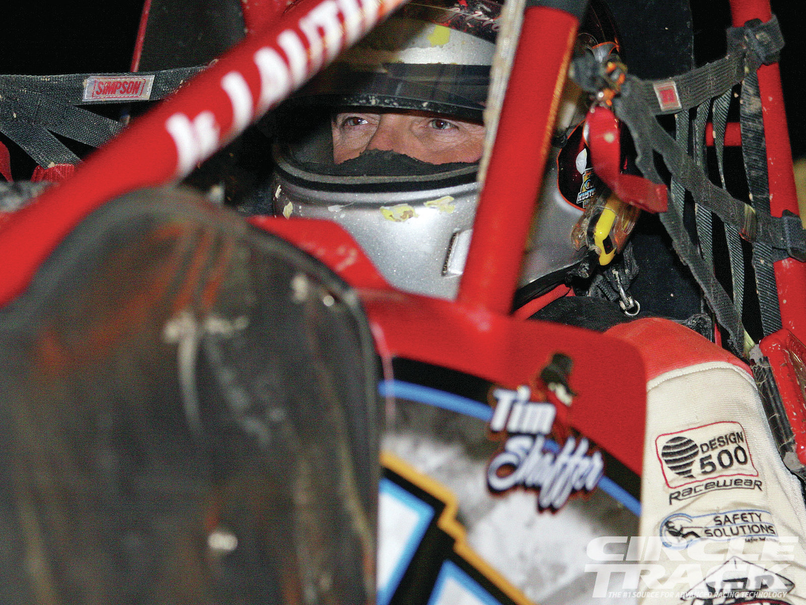 Tim Shaffer was one of six drivers who made the feature event at every stop of the 2012 UNOH Ohio Speedweek races.