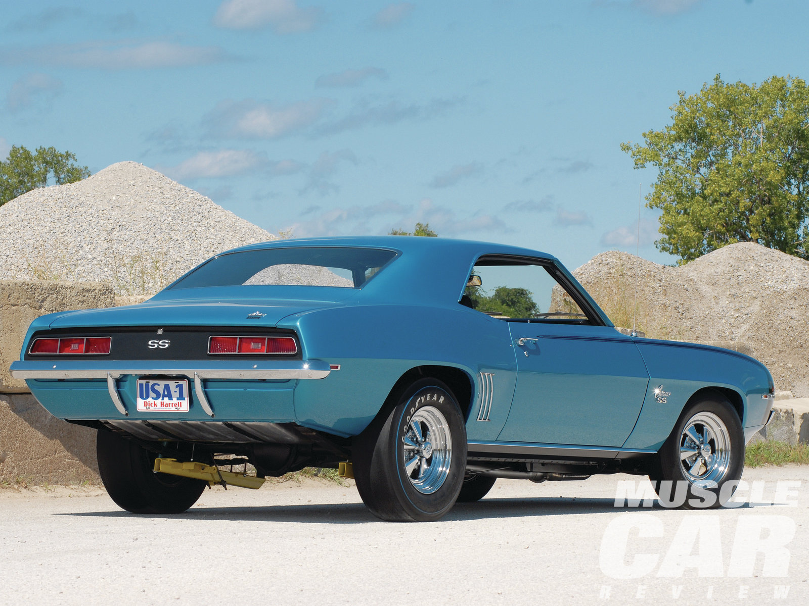 This Le Mans Blue beauty is one of 10 '69 SS396 Camaros converted that year by the Dick Harrell Performance Center.