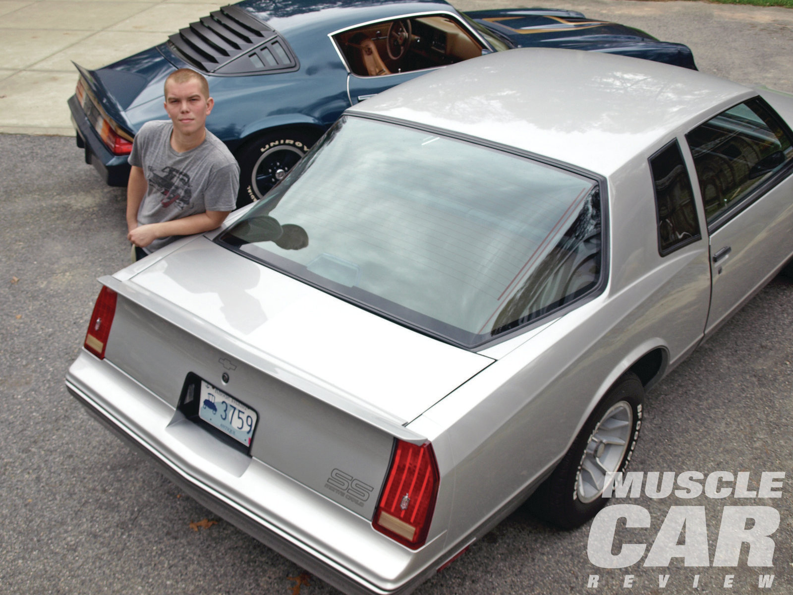 Young Josh poses with dad's one-of-6,052 '87 Monte Carlo SS Aerocoupe. Though limited production Aerocoupes are quite expensive, Chevy built nearly 35,000 non-Aero Monte Carlo Super Sports in 1987 alone. They are very affordable and offer a great way for younger guys to get into the hobby.