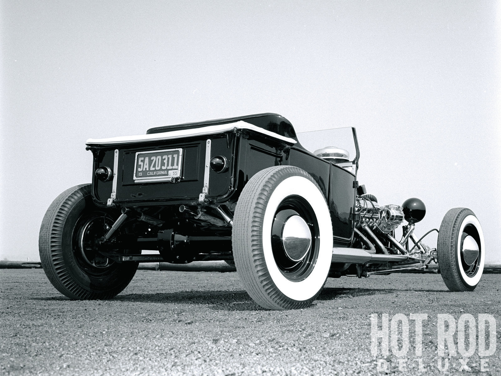 Norm's unprecedented approach began by chopping 20 inches from the rear of a Model-A chassis, shortening a Model-A pickup bed to match, and remounting the stock rear crossmember on top of the abbreviated rails. The '22 T body was channeled 6 inches.