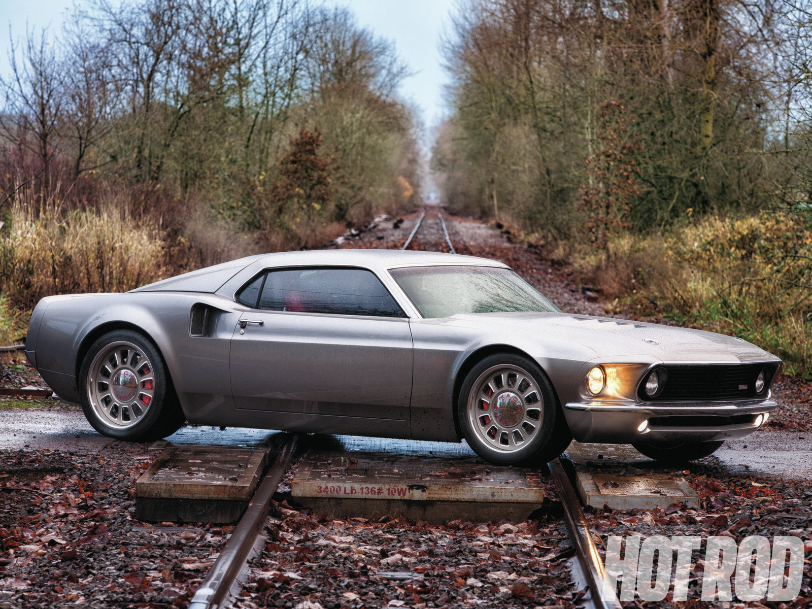 Mach 40 1969 ford mustang hot rod network